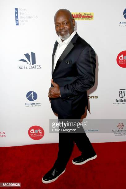 Emmitt Smith at the 17th Annual Harold Carole Pump Foundation Gala at The Beverly Hilton Hotel on August 11 2017 in Beverly Hills California