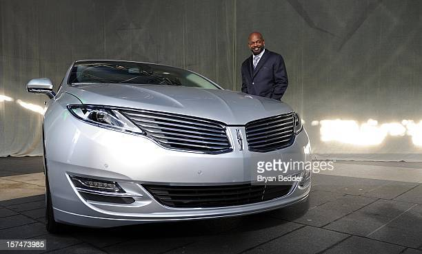 Emmitt Smith attends as Ford Unveils New Brand Direction For Lincoln At New York Press Event on December 3 2012 in New York City