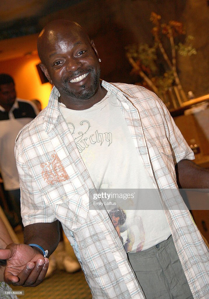 Emmitt Smith attends the Backstage Creations 2008 American Century Championship Golf Tournament on July 9 2008 in Lake Tahoe California