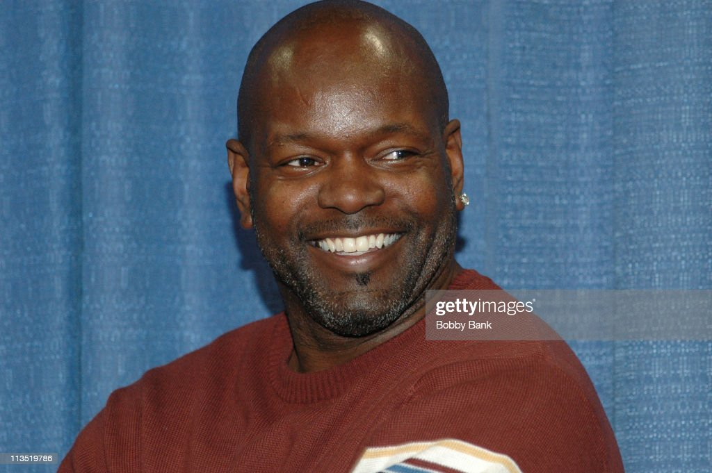 Emmitt Smith during Fantasy Football Spectacular 2006 at Expo Center Edison in Edison New Jersey United States