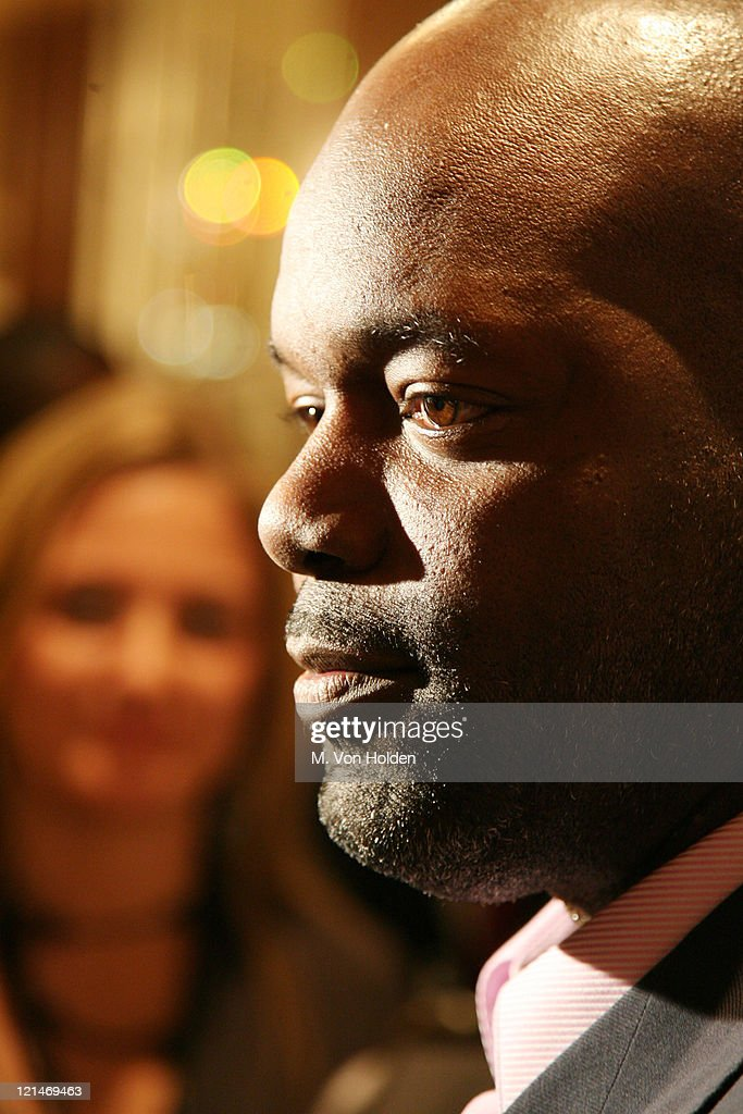 Emmitt Smith during NFL and The Gillen Brewer Company held the 'Kick off for a Cure' Benefit for Autism Speaks at Waldorf Astoria in New York New...