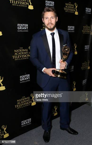 Emmy Award Winner Scott Clifton attends the 44th Daytime Emmy Awards with Foster Grant on April 30 2017 in Los Angeles California