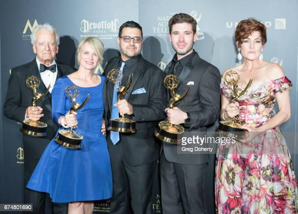 Emmy Award Winning Actors Nicolas Coster Mary Beth Evans Emmy Award Winning Director Gregori Martin and Emmy Award Winning Actors Kristos Andrews and...