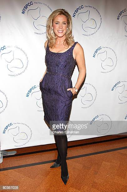 Emmy award winning broadcast journalist Deborah Norville attends the 2009 Child Protection Agency's Gala at 583 Park Avenue on October 26 2009 in New...