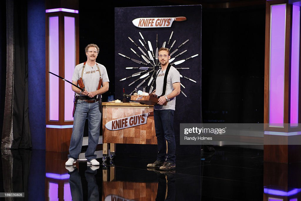 LIVE - Emmy Award-nominated 'Jimmy Kimmel Live' airs every weeknight (11:35 p.m. - 12:41 a.m., ET), packed with hilarious comedy bits and features a diverse lineup of guests including celebrities, athletes, musicians, comedians and humorous human interest subjects. The guests for WEDNESDAY, JANUARY 9 included actor Ryan Gosling ('Gangster Squad'), Will Ferrell and musical guest and panelist Brad Paisley. WILL