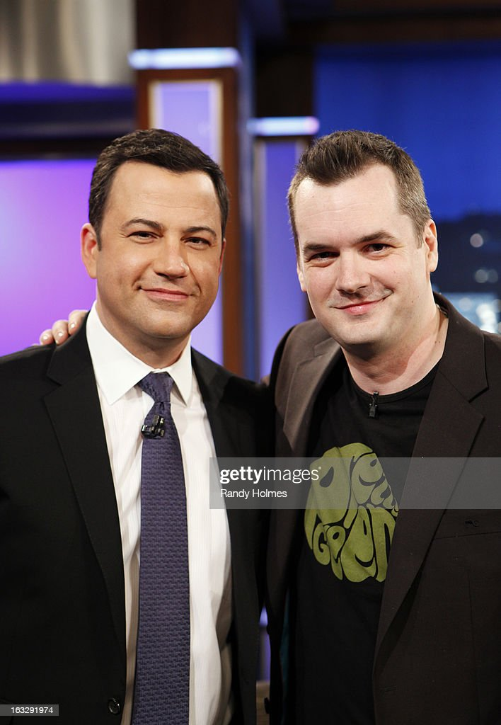 LIVE - Emmy Award-nominated 'Jimmy Kimmel Live' airs every weeknight (11:35 p.m. - 12:41 a.m., ET), packed with hilarious comedy bits and features a diverse lineup of guests including celebrities, athletes, musicians, comedians and humorous human interest subjects. The guests for WEDNESDAY, MARCH 6 included Jessica Simpson ('Fashion Star'), actor Jim Jefferies ('Legit') and musical guest Luke Bryan. JIMMY