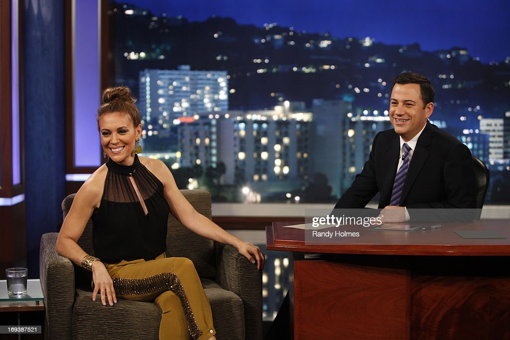 "LIVE - Emmy Award-nominated 'Jimmy Kimmel Live' airs every weeknight (11:35 p.m. - 12:41 a.m., ET), packed with hilarious comedy bits and features a diverse lineup of guests including celebrities, athletes, musicians, comedians and humorous human interest subjects. The guests for WEDNESDAY, MAY 22 included actress Alyssa Milano (""Mistresses'), actor Chris 'Ludacris' Bridges ('Fast & Furious 6') and musical guest Darius Rucker. KIMMEL"
