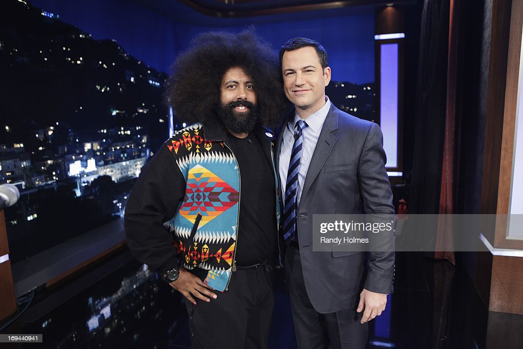 LIVE - Emmy Award-nominated 'Jimmy Kimmel Live' airs every weeknight (11:35 p.m. - 12:41 a.m., ET), packed with hilarious comedy bits and features a diverse lineup of guests including celebrities, athletes, musicians, comedians and humorous human interest subjects. The guests for THURSDAY, MAY 23 included Actor Mark Ruffalo ('Now You See Me'), Scrabble Champions Kevin Bowerman and Raymond Gao and musical guest Reggie Watts. REGGIE