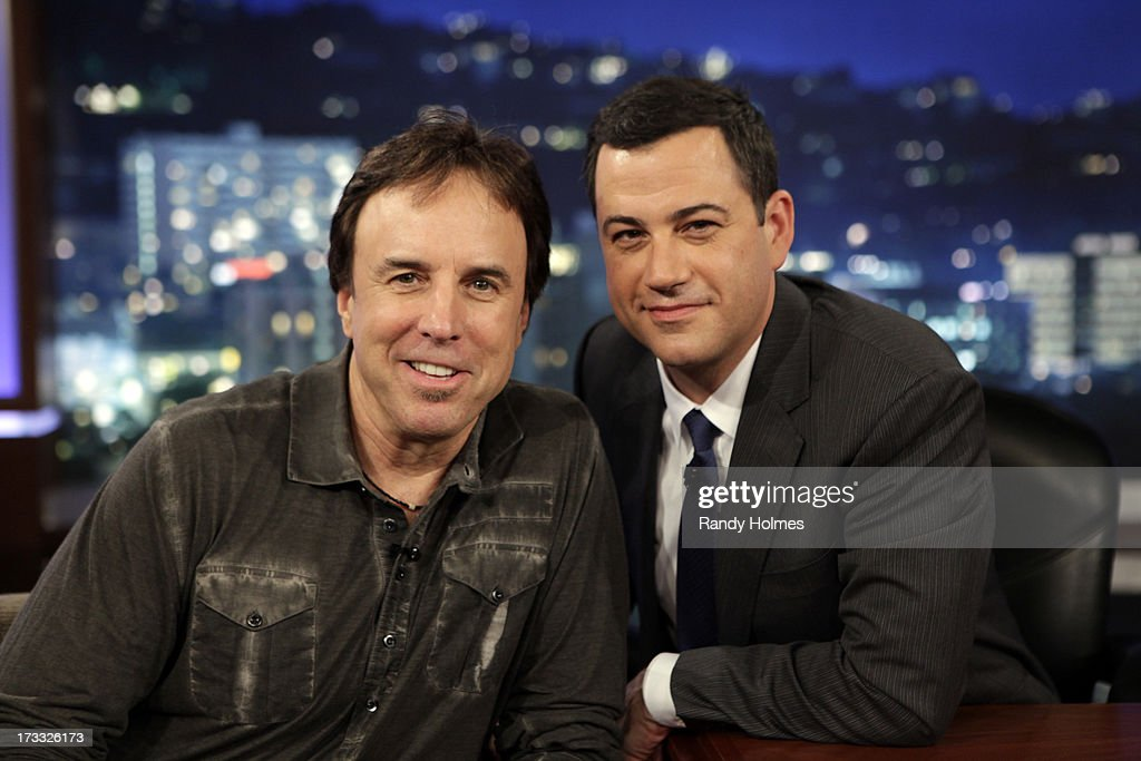 LIVE - Emmy Award-nominated 'Jimmy Kimmel Live' airs every weeknight (11:35 p.m. - 12:41 a.m., ET), packed with hilarious comedy bits and features a diverse lineup of guests including celebrities, athletes, musicians, comedians and humorous human interest subjects. The guests for WEDNESDAY, JULY 10 included actor Kevin Nealon (DVD 'WhelmedBut Not Overly'), actor Michael B. Jordan ('Fruitvale Station') and musical guest Karmin. KEVIN