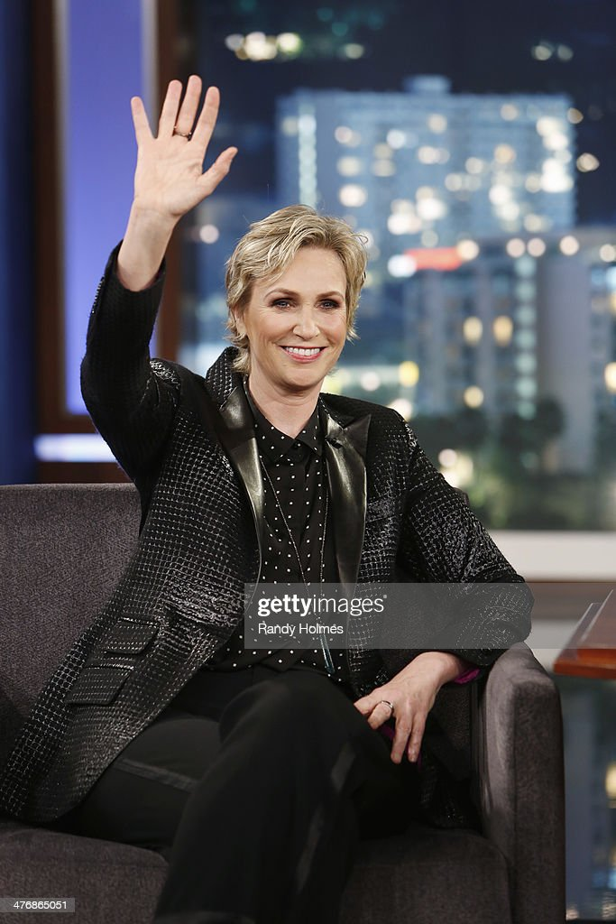 LIVE - Emmy Award-nominated 'Jimmy Kimmel Live' airs every weeknight (11:35 p.m. - 12:41 a.m., ET), packed with hilarious comedy bits and features a diverse lineup of guests including celebrities, athletes, musicians, comedians and humorous human interest subjects. The guests for TUESDAY, MARCH 4 included actress Jane Lynch ('Glee'), actor Omar Epps ('Resurrection') and musical guest Fitz & The Tantrums. JANE