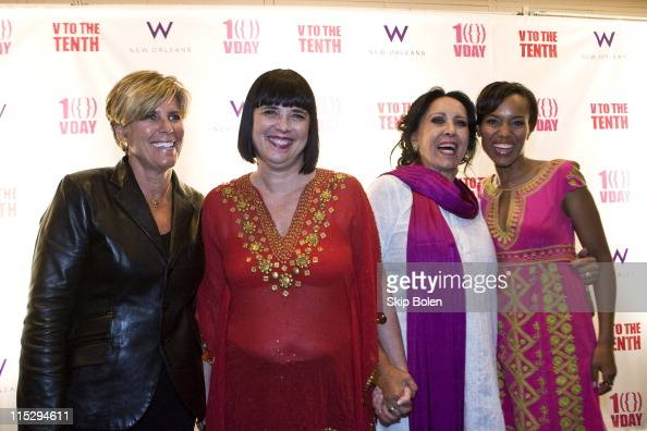 Emmy Awardwinning television host New York Times bestselling author magazine and online financial columnist Suze Orman VDay Founder and 'The Vagina...