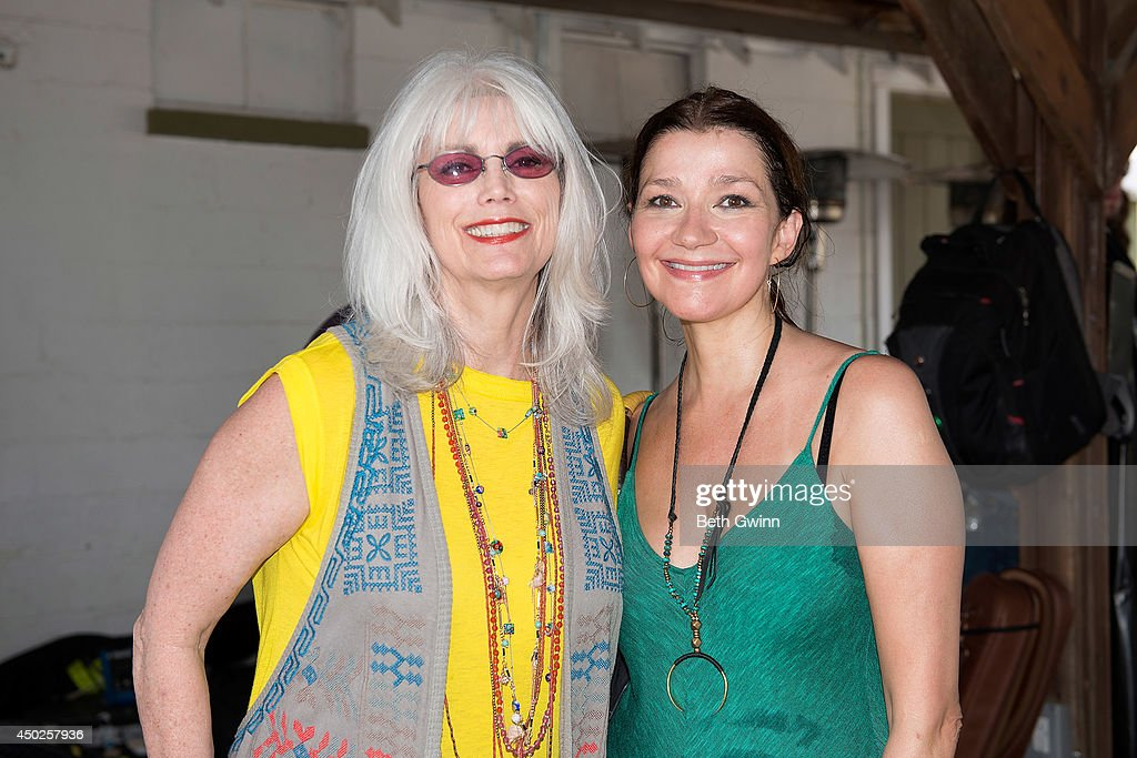 Emmy Lou Harris and Martraca Berg attends Woofstock at Fontanel 2014 on June 7, 2014 in Nashville, Tennessee.