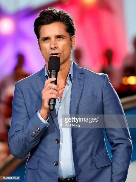Emmy nominated actor John Stamos hosts A Capitol Fourth at US Capitol West Lawn on July 4 2017 in Washington DC