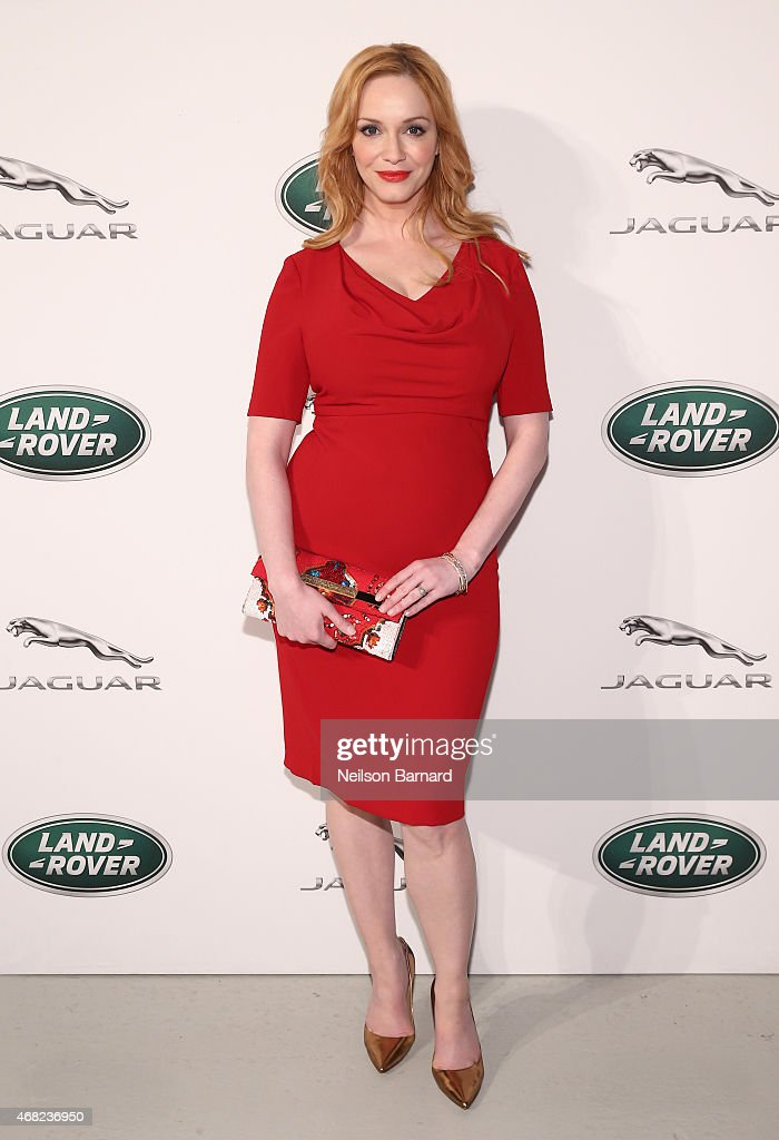 Jaguar Land Rover Exclusive Reception To Celebrate 2015 New York Auto Show