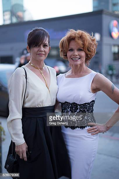 Emmy Nominated Actress Patsy Pease and Chrystal Ayers attend the LANY Entertainment Presents 'The Bay' PreEmmy Party at the St Felix on April 28 2016...