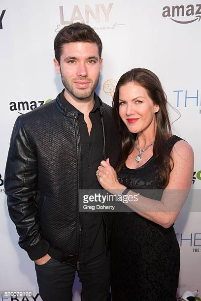 Emmy Nominated Actror Kristos Andrews and Actress Kira Reed Lorsch attend the LANY Entertainment Presents 'The Bay' PreEmmy Party at the St Felix on...