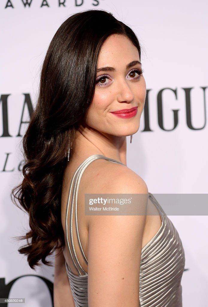 Emmy Rossum attends American Theatre Wing's 68th Annual Tony Awards at Radio City Music Hall on June 8, 2014 in New York City.