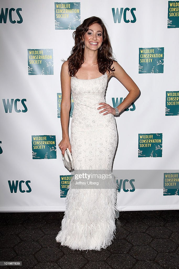 Emmy Rossum attends the 2010 Wildlife Conservation Society gala at the Central Park Zoo on June 10, 2010 in New York City.