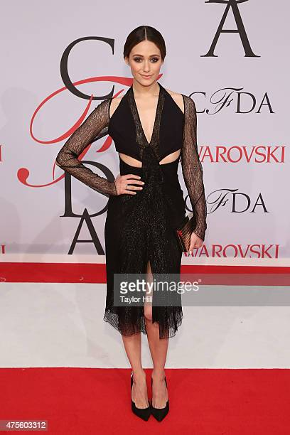Emmy Rossum attends the 2015 CFDA Awards at Alice Tully Hall at Lincoln Center on June 1 2015 in New York City