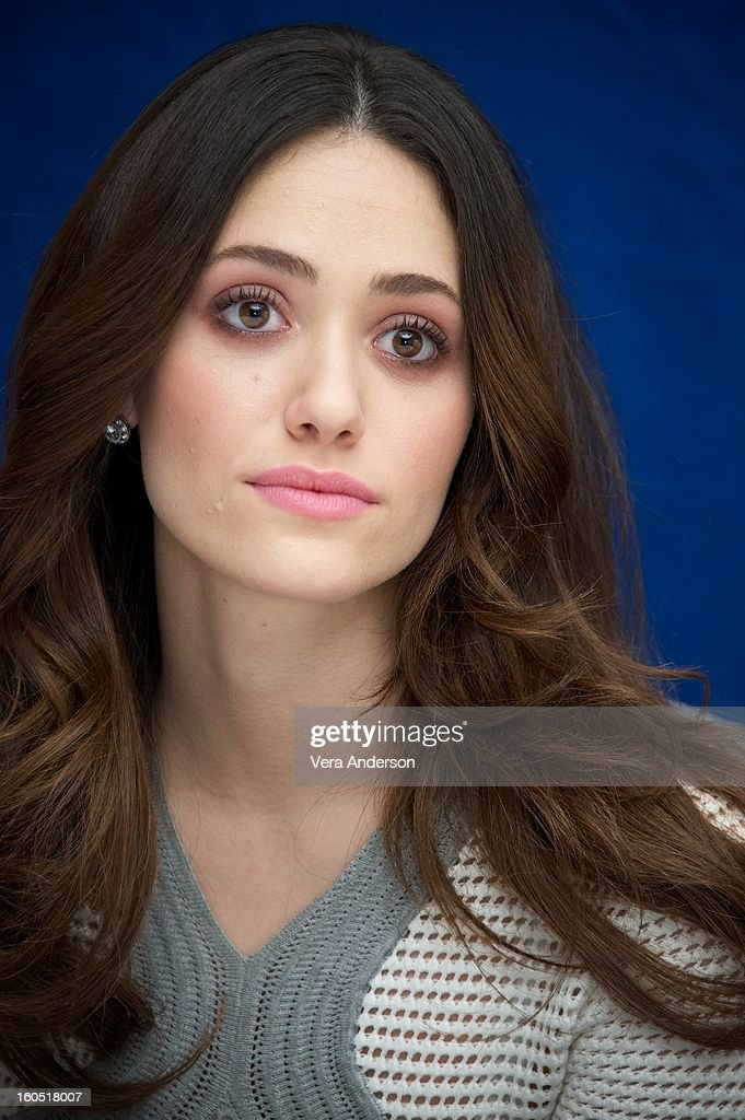<a gi-track='captionPersonalityLinkClicked' href=/galleries/search?phrase=Emmy+Rossum&family=editorial&specificpeople=202563 ng-click='$event.stopPropagation()'>Emmy Rossum</a> attends the 'Beautiful Creatures' Press Conference at the SLS Hotel on February 1, 2013 in Beverly Hills, California.