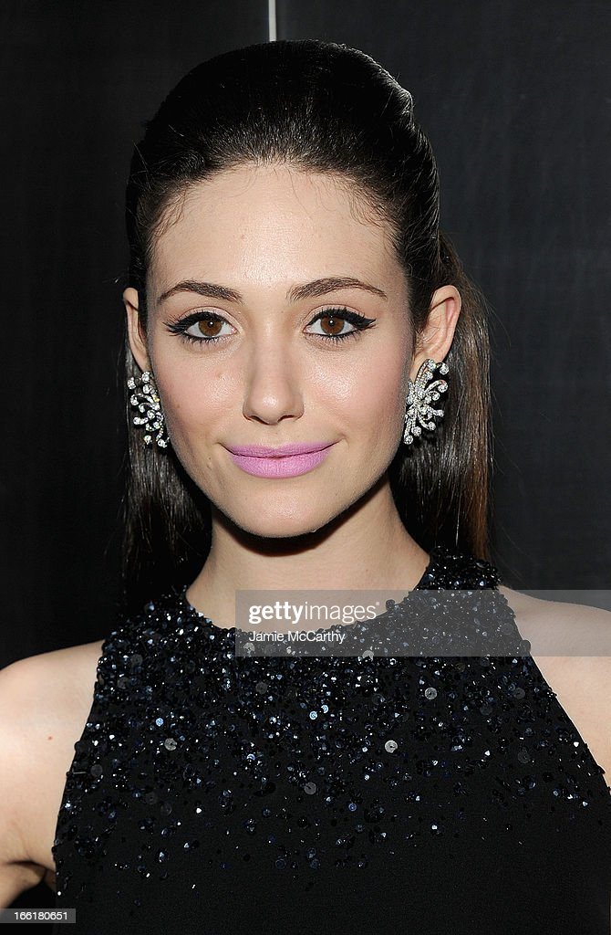 <a gi-track='captionPersonalityLinkClicked' href=/galleries/search?phrase=Emmy+Rossum&family=editorial&specificpeople=202563 ng-click='$event.stopPropagation()'>Emmy Rossum</a> attends the New Yorker's For Children's 10th Anniversary A Fool's Fete Spring Dance at Mandarin Oriental Hotel on April 9, 2013 in New York City.