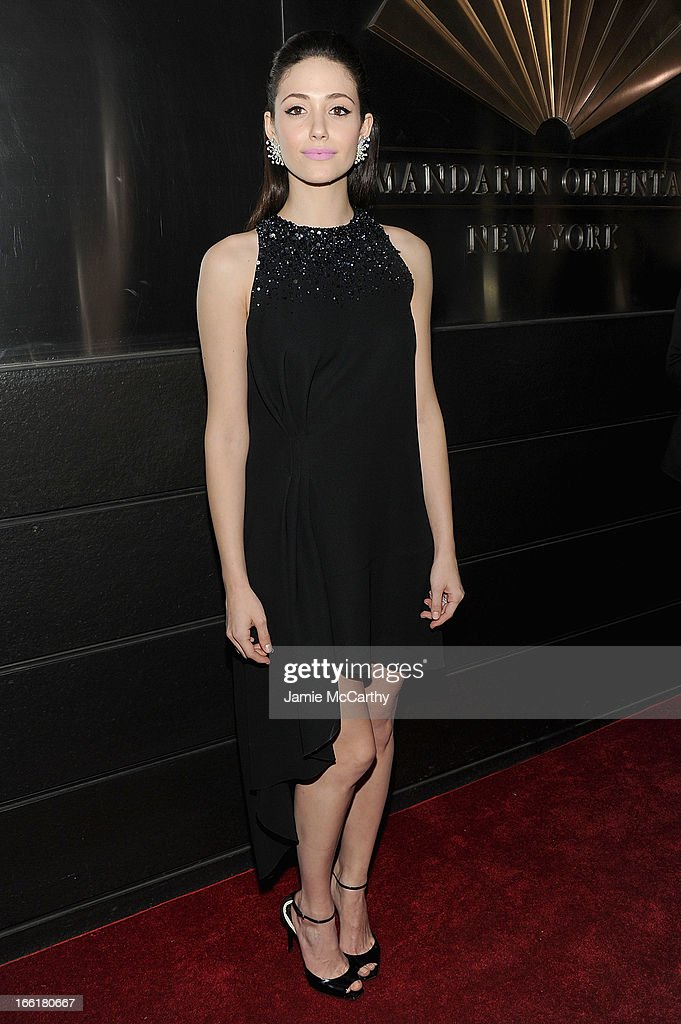 Emmy Rossum attends the New Yorker's For Children's 10th Anniversary A Fool's Fete Spring Dance at Mandarin Oriental Hotel on April 9, 2013 in New York City.