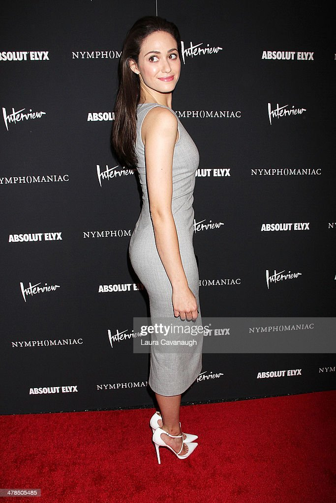 Emmy Rossum attends the 'Nymphomaniac: Volume I' screening at The Museum of Modern Art on March 13, 2014 in New York City.