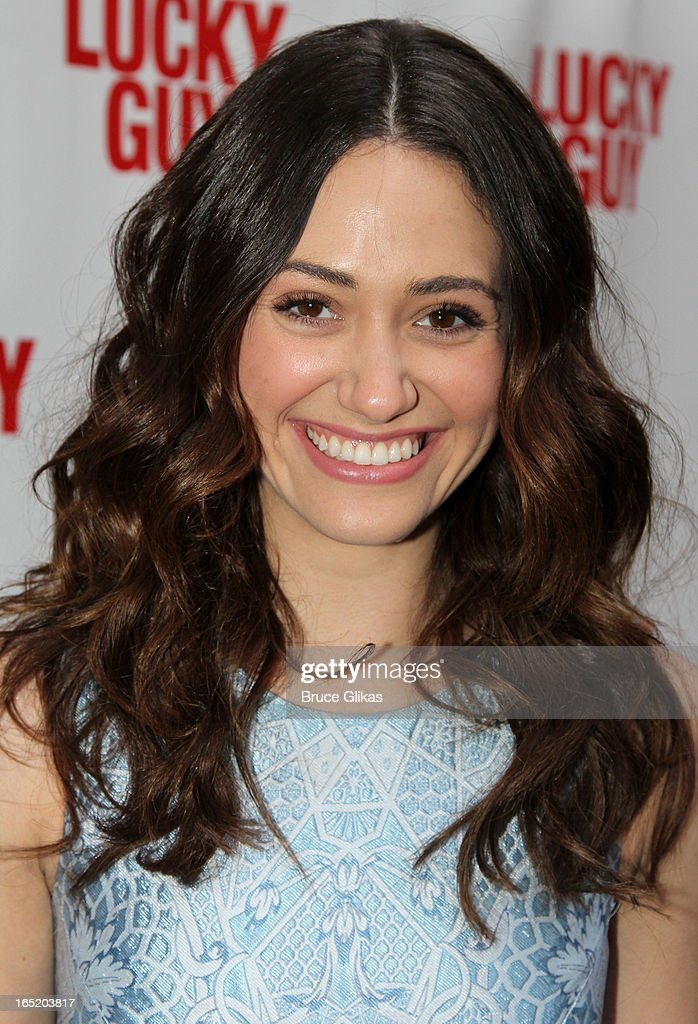 <a gi-track='captionPersonalityLinkClicked' href=/galleries/search?phrase=Emmy+Rossum&family=editorial&specificpeople=202563 ng-click='$event.stopPropagation()'>Emmy Rossum</a> attends the opening night of Broadway's 'Lucky Guy' at The Broadhurst Theatre on April 1, 2013 in New York City.