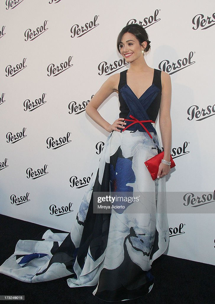 <a gi-track='captionPersonalityLinkClicked' href=/galleries/search?phrase=Emmy+Rossum&family=editorial&specificpeople=202563 ng-click='$event.stopPropagation()'>Emmy Rossum</a> attends the 'Persol Magnificent Obsessions:30 Stories Of Craftsmanship In Film' Opening at Museum of the Moving Image on July 10, 2013 in the Queens borough of New York City.