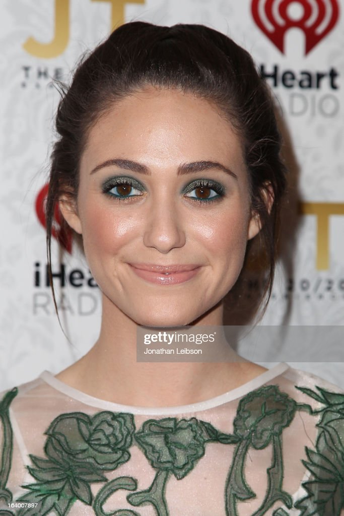 Emmy Rossum attends the Target Presents The iHeartRadio '20/20' Album Release Party With Justin Timberlake at El Rey Theatre on March 18, 2013 in Los Angeles, California.