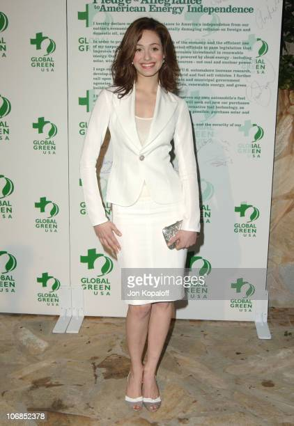 Emmy Rossum during Hollywood Stars Join Global Green For Clean Energy Solutions Music At 'Rock The Earth' at Day After Club in Hollywood California...