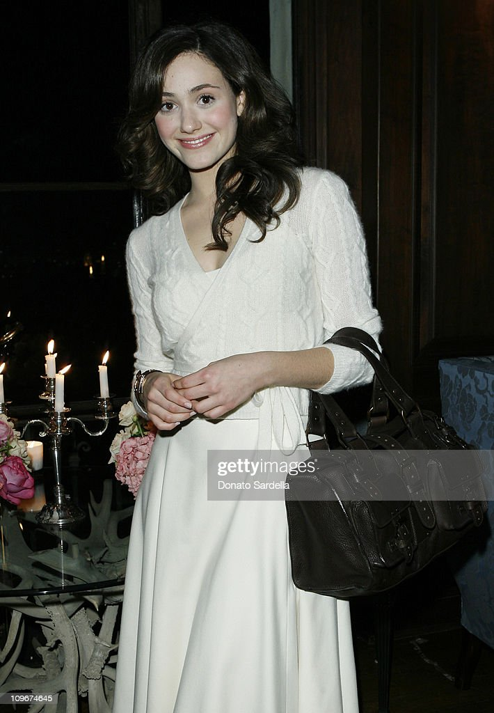 Emmy Rossum during Mulberry Dinner in Los Angeles - February 21, 2007 in Los Angeles, California.
