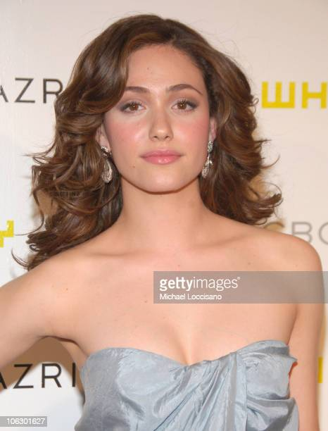 Emmy Rossum during The 2007 Annual Whitney Art Party at Skylight Studios in New York City New York United States