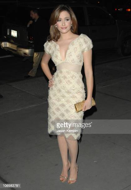 Emmy Rossum during The Fashion Group International Presents the 23rd Annual Night of Stars Honoring 'The Visionaries' at Cipriani's 42nd Street in...