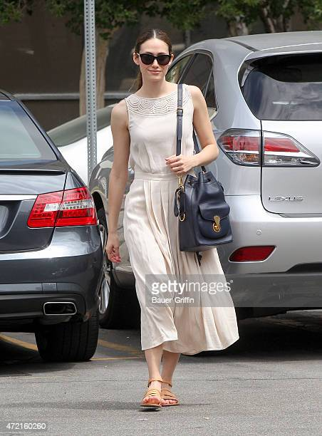 Emmy Rossum is seen in Los Angeles on May 04 2015 in Los Angeles California