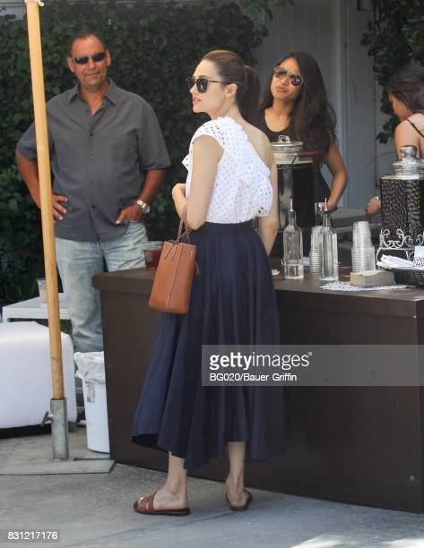 Emmy Rossum is seen on August 13 2017 in Los Angeles California