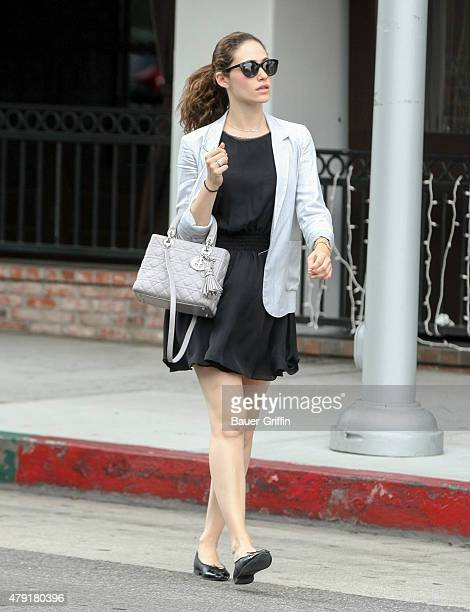 Emmy Rossum is seen on July 01 2015 in Los Angeles California