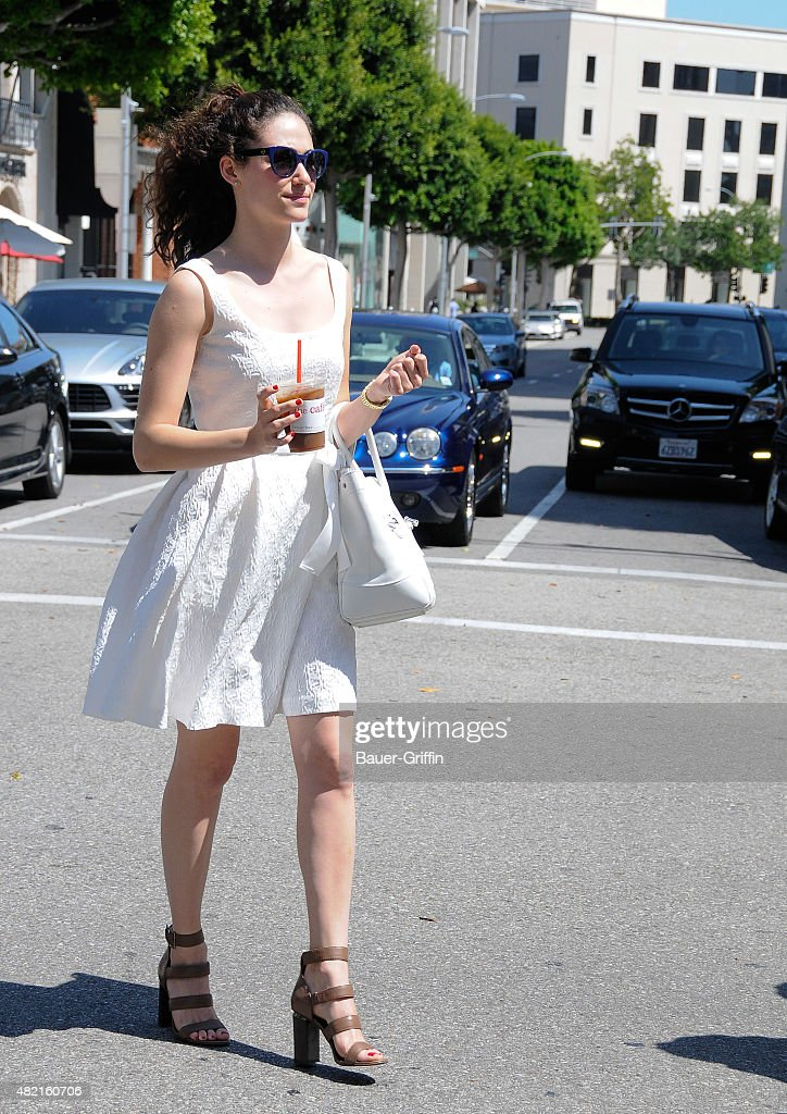 Emmy Rossum is seen on July 27 2015 in Los Angeles California