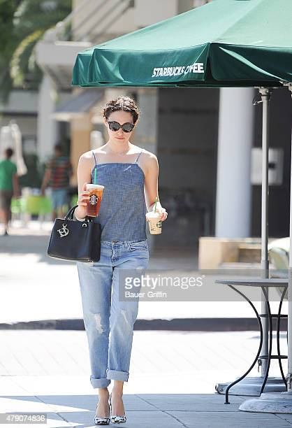 Emmy Rossum is seen on June 30 2015 in Los Angeles California