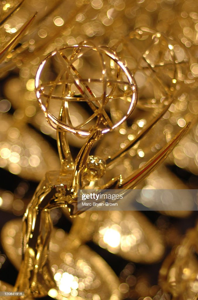 Emmy Statue during 32nd Annual Daytime Emmy Craft Awards Technical Awards Show at Mariott Marquis Hotel in New York New York United States