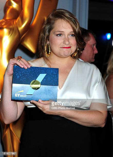 Emmy winner Merritt Wever backstage at the 65th Primetime Emmy Awards which will be broadcast live across the country 8001100 PM ET/ 500800 PM PT...