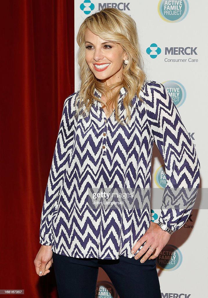 Emmy winning co-host <a gi-track='captionPersonalityLinkClicked' href=/galleries/search?phrase=Elisabeth+Hasselbeck&family=editorial&specificpeople=234656 ng-click='$event.stopPropagation()'>Elisabeth Hasselbeck</a> attends Active Family Project Kick-Off Event at Gramercy Park Hotel Rooftop on May 6, 2013 in New York City.