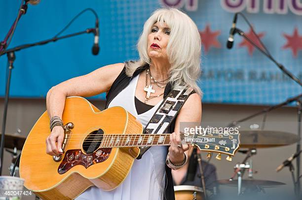 Emmylou Harris performs at the 2014 Taste Of Chicago at Grant Park on July 11 2014 in Chicago Illinois