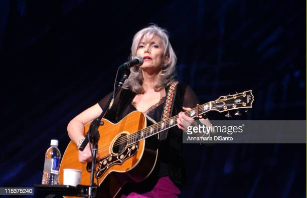 Emmylou Harris performs at the Concert for Artists' Rights at the Universal Amphitheatre in Universal City California February 26