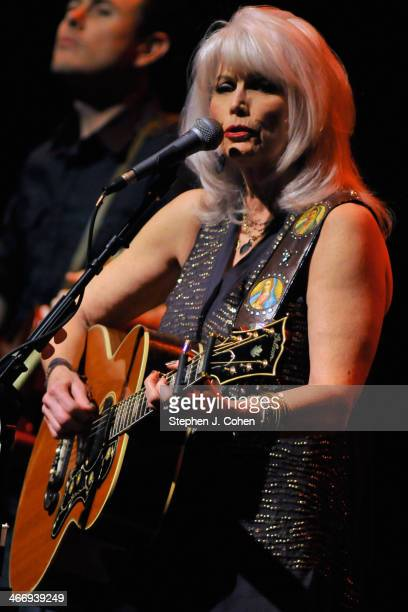 Emmylou Harris performs in concert at Brown Theatre on February 4 2014 in Louisville Kentucky