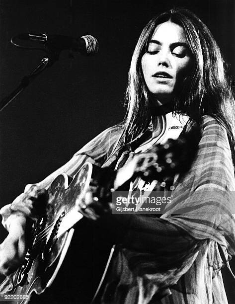 Emmylou Harris performs live in Amsterdam Netherlands in 1975