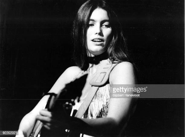 Emmylou Harris performs live in Nijmegen Netherlands in 1976