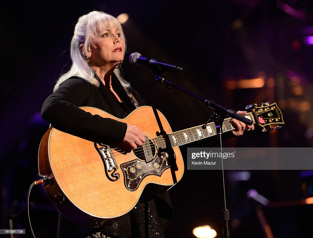 <a gi-track='captionPersonalityLinkClicked' href=/galleries/search?phrase=Emmylou+Harris&family=editorial&specificpeople=240263 ng-click='$event.stopPropagation()'>Emmylou Harris</a> performs onstage at MusiCares Person Of The Year Honoring Bruce Springsteen at Los Angeles Convention Center on February 8, 2013 in Los Angeles, California.