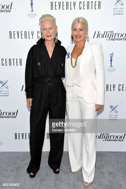 Emmynominated 'Feud Bette and Joan' costume designer Lou Eyrich and Emmynominated 'Westworld' costume designer Trish Summerville attend Beverly...