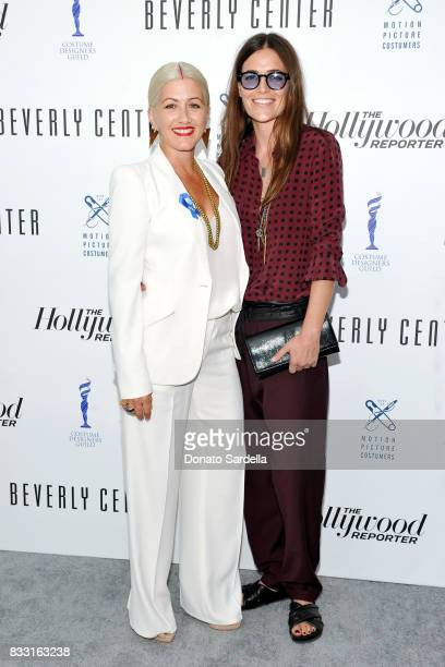 Emmynominated 'Westworld' costume designer Trish Summerville and Laurie Glazier attend Beverly Center and The Hollywood Reporter's Candidly Costume...